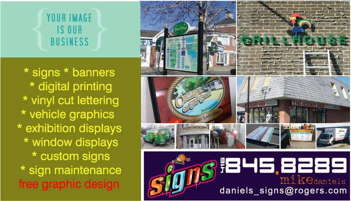 Daniels Signs and Banners serving Toronto GTA