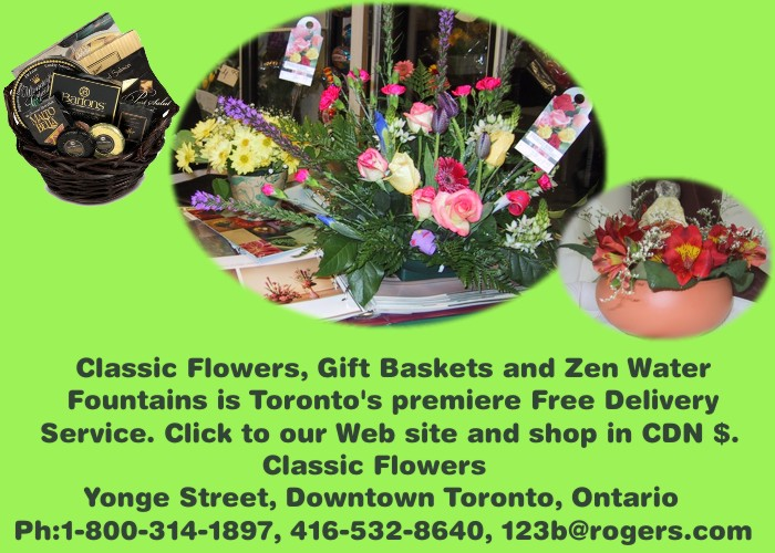 flower delivery in toronto: