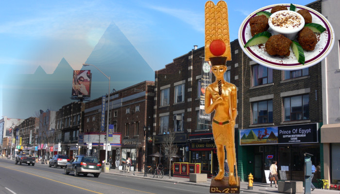 Prince of Egypt Cuisine on The Danforth